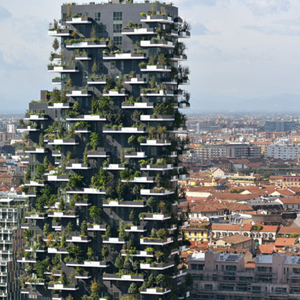 """Bosco Verticale"" in Mailand"